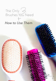 goody hair the only 3 hair brushes you need and how to use them twenty