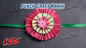 diy easy paper rakhi for raksha bandhan how to make jk easy