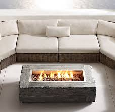Diy Gas Fire Pit by Best 25 Gas Fire Table Ideas On Pinterest Gas Fire Pits Gas
