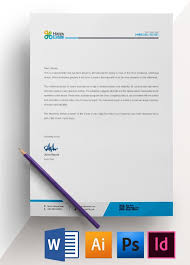 office letterhead template easy download professional design