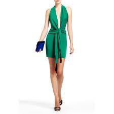 bcbgmaxazria lella plunge cocktail dress women u0027s clothing