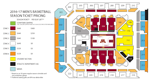 williams arena seating charts