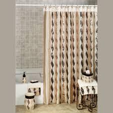 Black And Gold Curtain Fabric Curtain Bathroom Ruffle Shower Curtain For Cool Bathroom