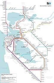 Bay Area Map A Map Of San Francisco U0027s Subway System That Almost Was