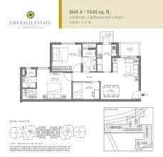floor plans of emaar mgf emerald estate gurgaon apartments