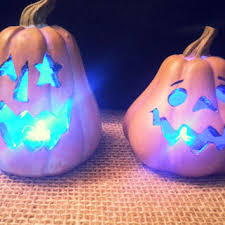 light up pumpkins for halloween best ceramic pumpkins lighted products on wanelo