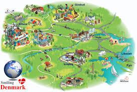 Legoland Map Henne Visit South West Jutland Southern Denmark Denmark Europe