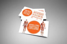 Sports Massage Business Cards Louise Rocchi Massage The Ducks Guts