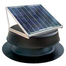 Roof Turbines Home Depot by 20 Watt Solar Powered Attic Fan Safb20 Ss The Home Depot