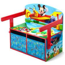 bureau mickey bureau enfant mickey mickey bureau banc enfant convertible avec