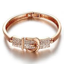 rose gold crystal bangle bracelet images Aa9 new arrivals 2013 hot item 18k rose gold plated crystal belt jpg