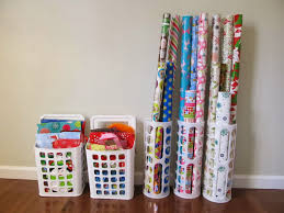 how to store wrapping paper and gift bags 60 pounds of pancakes organizing gift wrap