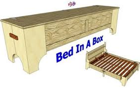 Folding Cing Bed California King Size Folding Bed 3d Woodworking Plans