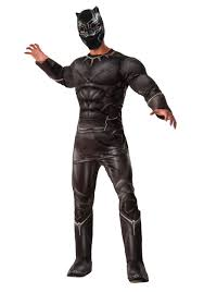 deluxe halloween costumes for women men u0027s deluxe civil war black panther costume