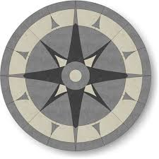 floor medallion 48 series polished porcelain m008 48