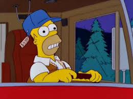 Meme Generator Homer Simpson - homer simpson trucker blank template imgflip