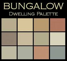 color palette for home interiors interior color palettes for arts crafts homes bungalow spaces