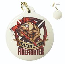 firefighter ornaments firefighter