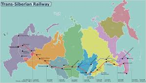 Ural Mountains On World Map by Trans Siberian Railroad Facts And Map Hello Russia Tours