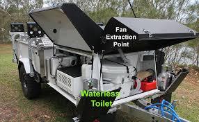 camper van with bathroom toilet suite in camper trailer kimberleykampers