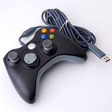 wired controller for xbox 360 black unofficial