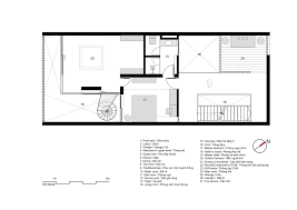 Living Room Architecture Drawing Gallery Of 7x18 House Ahl Architects Associates 42