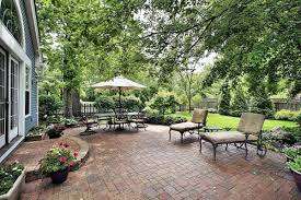 Patio Designs Using Pavers by Backyard Pavers And Reasons To Have