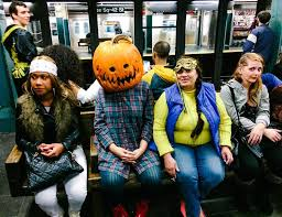 photos of the freaks and weirdos the nyc subway on