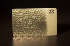 starbuck gold card why yes there i are i 5 000 solid gold starbucks cards