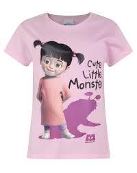 Monsters Inc Boo Halloween Costumes by Official Monsters Inc Boo Cute Little Monster U0027s T Shirt
