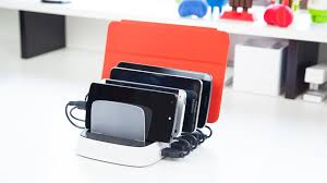 Wall Mounted Cell Phone Charging Station by Griffin Powerdock 5 Charging Station Review Youtube