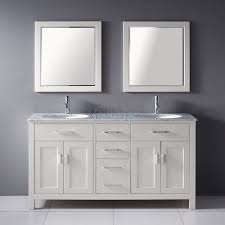 Bathroom Double Sink Vanities 60 Inch by Double Sink Vanity 60 Inch Square Clear Glass Tempered Bathtub