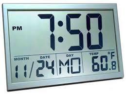 Coolest Clock Best Digital Wall Clock Tv Digital Wall Clock Pinterest Wall