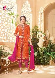 5901 kesri trends salwar kameez suits dress material anarkali