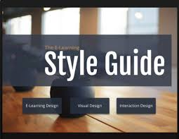 peep this e learning focused interactive style guide template