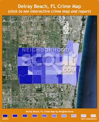 map of delray delray crime rates and statistics neighborhoodscout