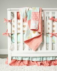 Navy And Coral Crib Bedding Nursery Beddings Navy Blue And Coral Crib Bedding As Well As