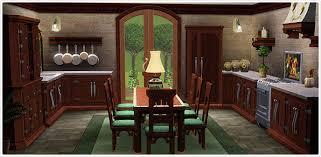 cuisine sims 3 cuisine salle à manger villa méditerranéenne store les sims 3