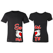 valentines shirts soul mate heart matching t shirt set valentines day
