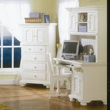 White Desk And Hutch by Furniture Exciting Office Furniture Design With Secretary Desk