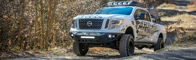 lifted nissan car raise your nissan titan or titan xd 4 inches with a lift kit by