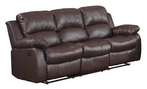 Couch Lengths by Amazon Com Bonded Leather Double Recliner Sofa Living Room