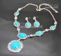 turquoise necklace sets images Turquoise necklace set images jpg