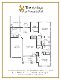 senior apartment floor plans the springs at veranda park