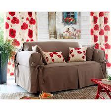 couverture pour canapé housse de canapé à nouettes becquet taupe becquet linge de