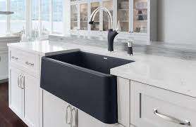 Stainless Steel Farm Sinks For Kitchens Black Stainless Steel Farmhouse Sink Kitchen Ideas