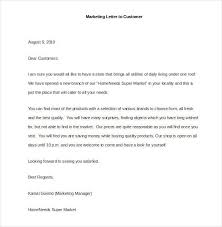 sample sales letter to customer 9 sales letter templates free