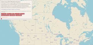 Canada On A Map Julia Conzon