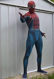 amazing spiderman costume halloween zentai suits 16081604