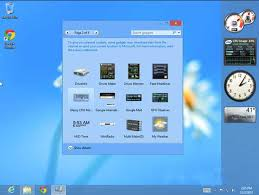 gadgets bureau windows 8 install desktop gadgets and sidebar in windows 8 team windows 8